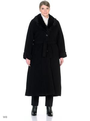 Пальто Castlelady. Цвет: черный