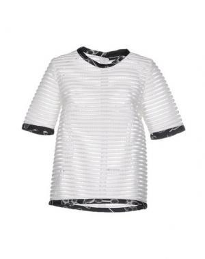 Блузка OSTWALD HELGASON. Цвет: белый