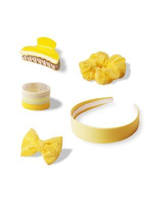 Комплект аксессуаров для волос  BRIGHT YELLOW ESLI. Цвет: желтый