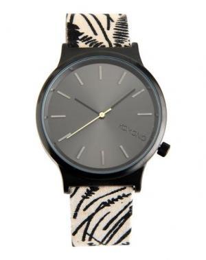 Наручные часы KOMONO. Цвет: серый