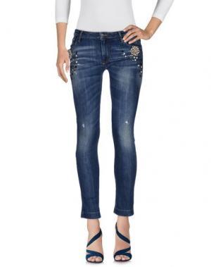 Джинсовые брюки NORA BARTH. Цвет: синий