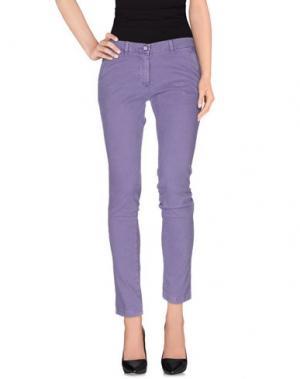 Повседневные брюки MODFITTERS. Цвет: розовато-лиловый