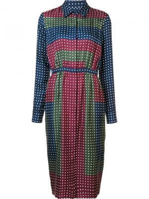 Polka dot shirt dress Gabriela Hearst. Цвет: многоцветный
