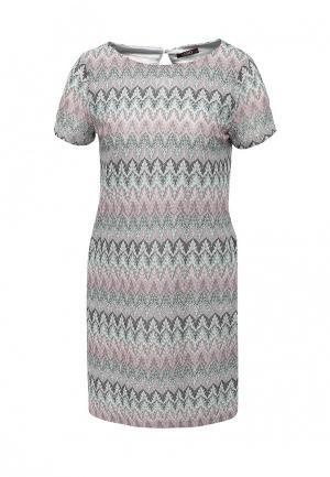 Платье Lusio. Цвет: разноцветный