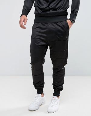 Voi Jeans Джоггеры слим Profile. Цвет: черный