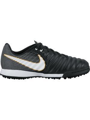 Бутсы JR TIEMPOX LIGERA IV TF Nike. Цвет: черный, золотистый, серый