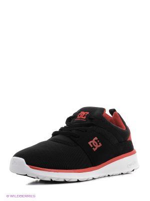 Кроссовки DC Shoes. Цвет: черный, лиловый