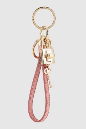 Брелок с подвесками Dolce&Gabbana. Цвет: розовый