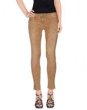 Джинсовые брюки CIMARRON. Цвет: песочный