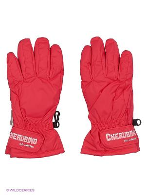 Перчатки детские Cherubino. Цвет: розовый