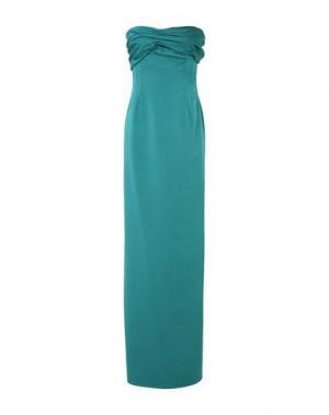 Длинное платье VALENTINO ROMA. Цвет: изумрудно-зеленый