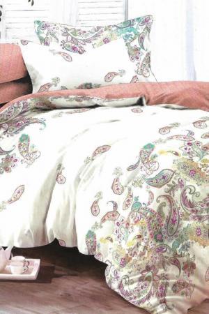 Постельное белье 2 сп, 70х70 BegAl. Цвет: бежевый, терракотовый, зеленый