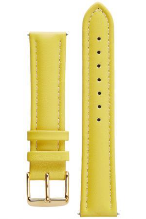 Ремешок для часов Signature. Цвет: желтый