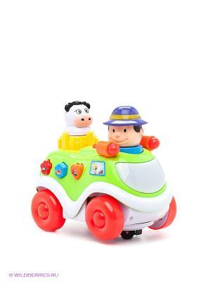 Музыкальная игрушка Машинка VELD-CO. Цвет: зеленый, белый, красный