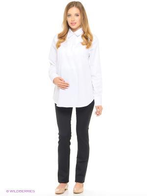 Блуза UNIOSTAR. Цвет: белый