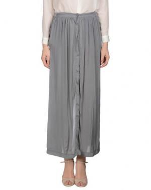 Длинная юбка EUROPEAN CULTURE. Цвет: серый