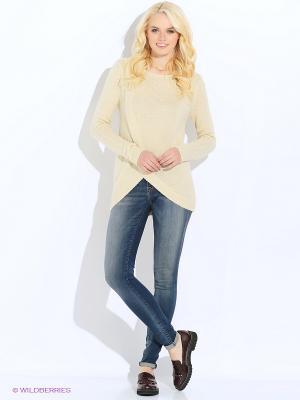 Джемпер Vero moda. Цвет: молочный