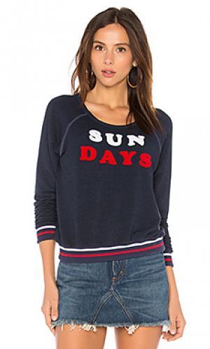 Свитер sun days SUNDRY. Цвет: синий