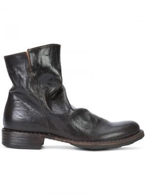 Ботинки по щиколотку Fiorentini +  Baker. Цвет: коричневый