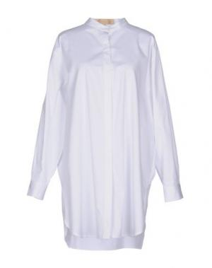 Pубашка BONSUI. Цвет: белый