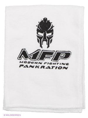 Полотенце для фитнеса и единоборств MFP PANKRATION. Цвет: белый