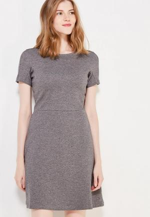 Платье Tommy Hilfiger. Цвет: серый