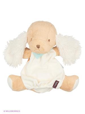 Щенок комфортер, кукла на руку 30 см, коллекция Друзья Kaloo. Цвет: белый
