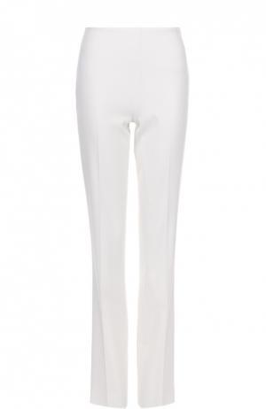 Расклешенные брюки с завышенной талией и стрелками Ralph Lauren. Цвет: кремовый