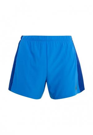 Шорты спортивные ASICS. Цвет: голубой