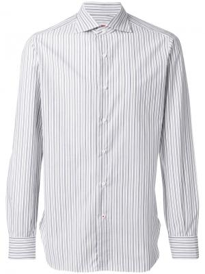 Striped shirt Isaia. Цвет: белый