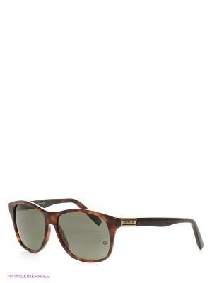 Солнцезащитные очки  MB 373S 52R Montblanc. Цвет: коричневый, антрацитовый