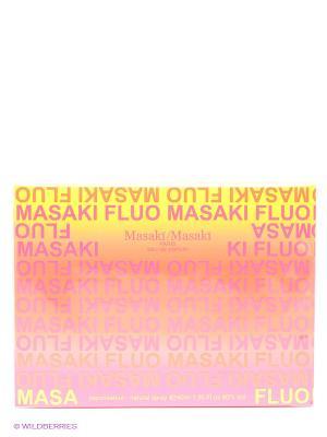 Туалетная вода FLUO п/в 40 мл MASAKI MATSUSHIMA. Цвет: желтый, оранжевый, розовый