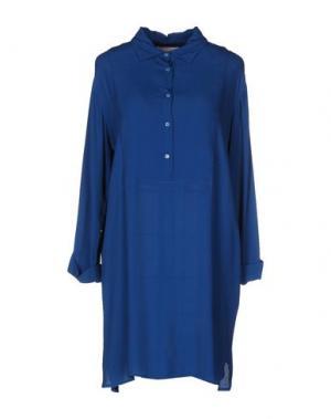 Короткое платье VICOLO. Цвет: цвет морской волны