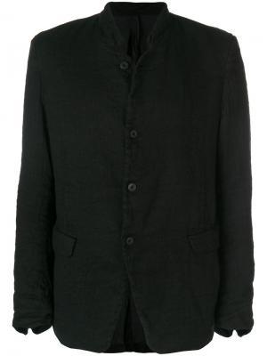Пиджак на пуговицах Poème Bohémien. Цвет: чёрный