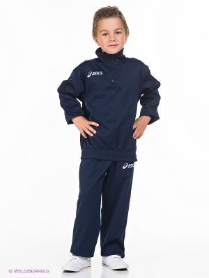 Спортивный костюм TUTA BOSTON ASICS. Цвет: темно-синий