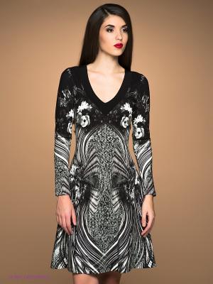Платье Class Cavalli. Цвет: черный, белый