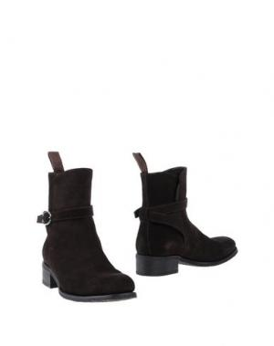 Полусапоги и высокие ботинки JANEMOX BY RIGHI JR. Цвет: темно-коричневый