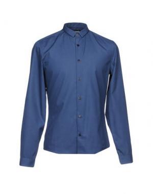 Pубашка MISERICORDIA. Цвет: синий
