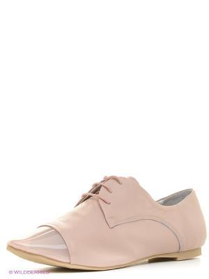 Туфли Vitacci. Цвет: бежевый