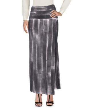 Длинная юбка CIVIDINI. Цвет: серый