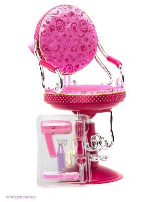 Парикмахерское кресло для куклы OG Dolls. Цвет: розовый