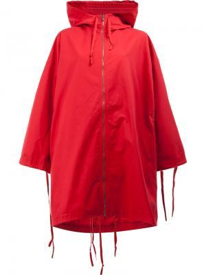 Explorer raincoat Toogood. Цвет: красный