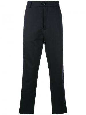 Weekend trousers Société Anonyme. Цвет: синий