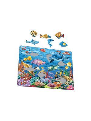 Пазл Коралловый риф LARSEN AS. Цвет: голубой, белый, желтый, зеленый, оранжевый, синий