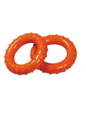 Эспандер кистевой (кольцо массажное), ПВХ, 2 шт Atemi, AER-01 Atemi. Цвет: оранжевый