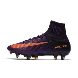Футбольные бутсы для игры на мягком грунте  Mercurial Superfly V Dynamic Fit SG-PRO Nike. Цвет: пурпурный