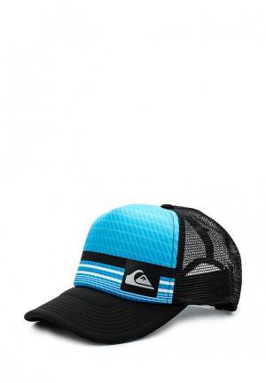 Бейсболка Quiksilver. Цвет: голубой