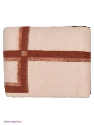 Одеяло Греция, 170х210 VLADI. Цвет: белый, терракотовый