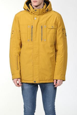 Куртка City One. Цвет: желтый