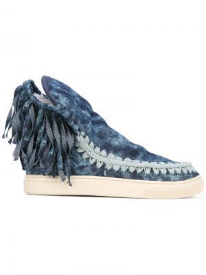 Ботинки Eskimo Mou. Цвет: синий